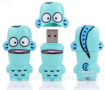 Mimoco MIMOBOT Hangyodon USB Flash Drives