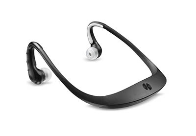 Motorola S10-HD Bluetooth Stereo Headphones is Water Resistant