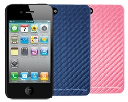 NewerTech NuGuard Carbon Fiber Style Case iPhone 4