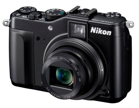 Nikon CoolPix P7000 Prosumer Digital Camera angle