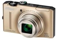 Nikon CoolPix S8100 Digital Camera gold