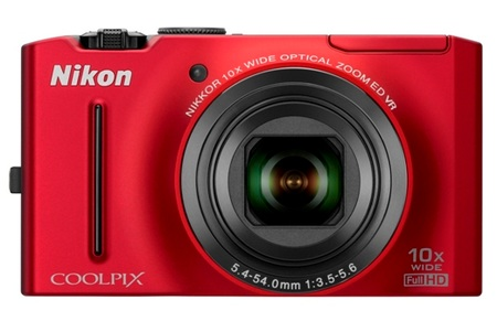 Nikon CoolPix S8100 Digital Camera red