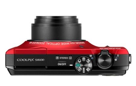 Nikon CoolPix S8100 Digital Camera top