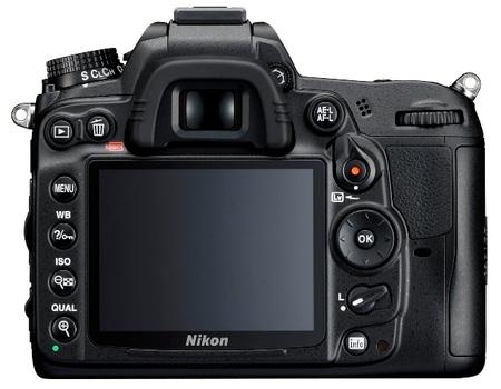 Nikon D7000 DSLR Camera 1080p Full HD Video back