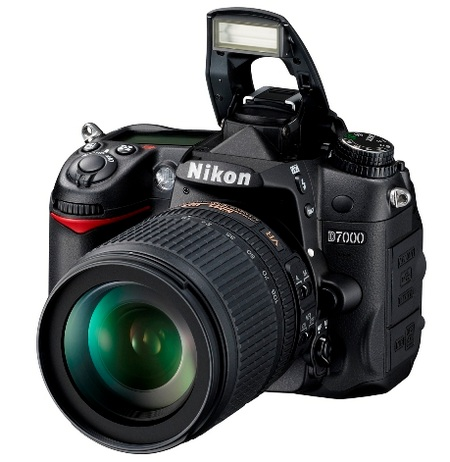 Nikon D7000 DSLR Camera 1080p Full HD Video flash open