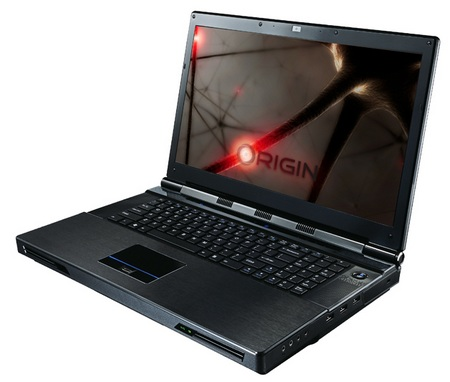 ORIGIN EON17 Gaming Notebook with Core i7-980X Desktop CPU and GeForce GTX480M