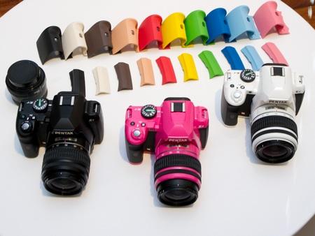 Pentax K-r DSLR Camera colors