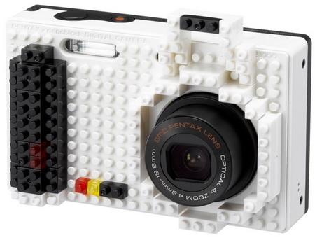 Pentax Optio NB1000 Customizable with Lego monotone 1