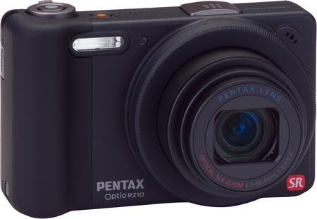 Pentax Optio RZ10 10x Zoom Camera black