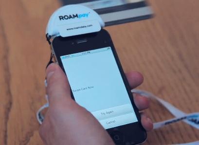 QuickPay ROAMpay Credit Card Swiper