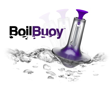 Quirky Boil Buoy rings when water boils.