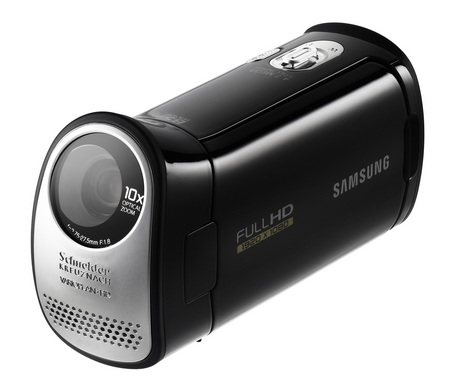 Samsung HMX-T10 Full HD Camcorder with 20-degree Slanted Lens