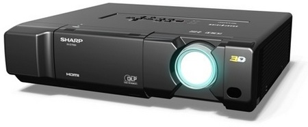 Sharp XV-Z17000 Full HD 3D-Ready Home Theater Projector