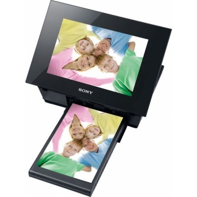 Sony S-Frame DPP-F800 Digital Photo Frame with built-in printer