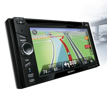 Sony Xplod XNV-L66BT and XNV-660BT Multimedia Navigation Systems