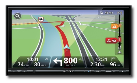 Sony Xplod XNV-L77BT, XNV-770BT Multimedia Navigation Systems front