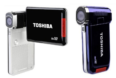 Toshiba Camileo S30 and Camileo P20 Pocket Full HD Camcorders