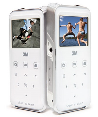 3M Shoot 'n Share CP40 Camcorder Projector