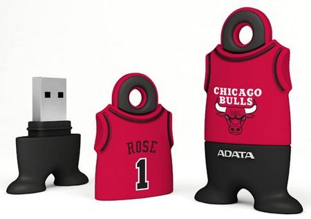 A-DATA NBA USB Flash Drives Derrick Rose Chicago Bulls