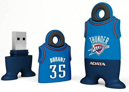 A-DATA NBA USB Flash Drives Kevin Durant Oklahoma Thunder