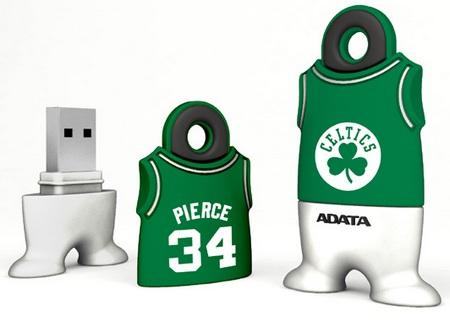 A-DATA NBA USB Flash Drives Paul Pierce Boston Celtics