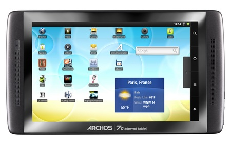 Archos 70 Android Internet Tablet 1
