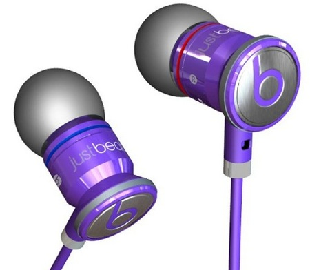 Beats by Dr. Dre JustBeats Justin Bieber in-ear Headphones