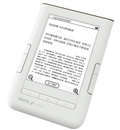 BenQ nReader K61 e-book reader with 3G and WiFi 2