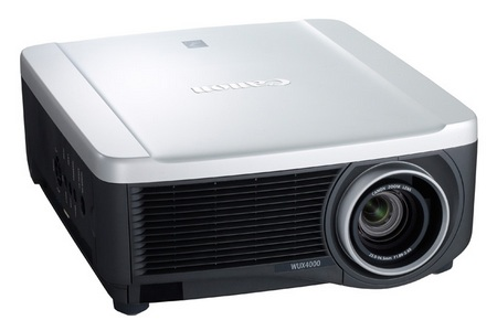 Canon REALiS WUX4000 Installation LCOS Projector front