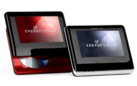 Energy Sistem M2700 Shift Ruby Red Portable DVD Player colors
