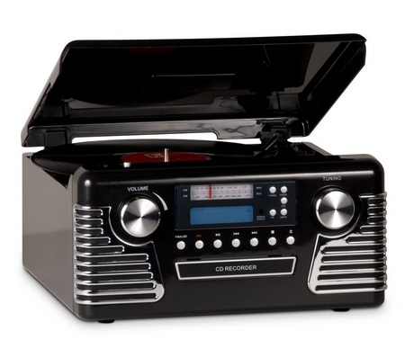 Grace Digital Audio Victoria Retrowriter records music from vinyl to CD-R RW