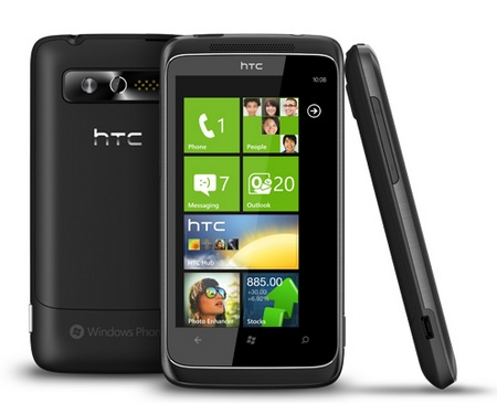 HTC 7 Trophy WP7 Phone with XBOX LIVE and SRS WOW HD 1