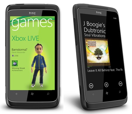 HTC 7 Trophy WP7 Phone with XBOX LIVE and SRS WOW HD