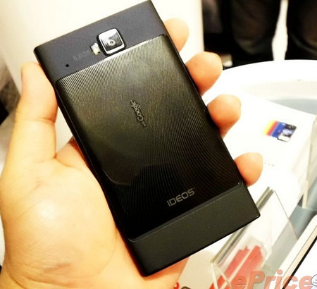 Huawei IDEOS X6 Android Smartphones back