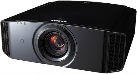 JVC Procision Series DLA-X9, DLA-X7 and DLA-X3 3D-enabled D-ILA Projectors angle