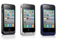 Kensington PowerGuard iPhone 4 Battery Case with Card Stand colors