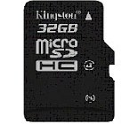 Kingston SDC4-32GBSP 32GB Class 4 microSDHC Memory Card