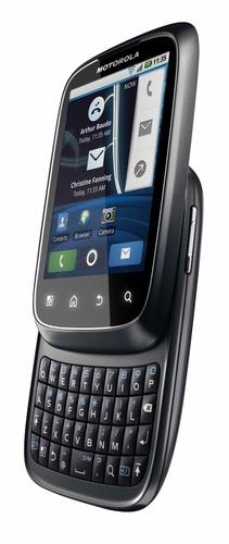 Motorola SPICE Android Phone looks just like the Palm Pre