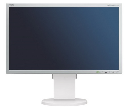 NEC MultiSync EA232WMi IPS Full HD LCD Display white
