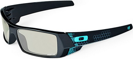 Oakley 3D Gascan Eyewear TRON Legacy Film Special Edition 1