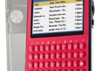 Peek 9 Portable Email Client Black Cherry