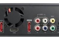 QNAP NMP-1000P Network HD Media Player back