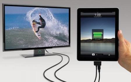 Scosche sneakPEEK II Switchable AV Cable for iPod, iPhone, iPad