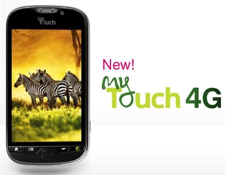 T-Mobile myTouch 4G Coming on 3 November