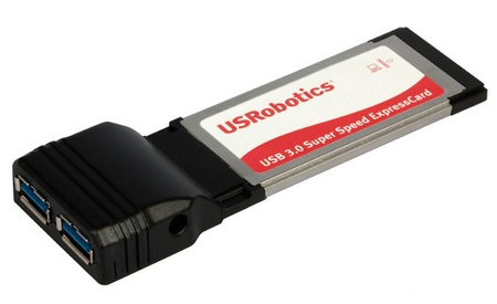 USRobotics USR8401 USB 3.0 ExpressCard adapter
