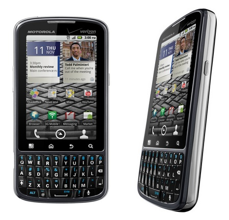 Verizon Motorola DROID PRO QWERTY Candybar Android Phone front