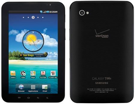 Verizon's Samsung Galaxy Tab coming on 11 November