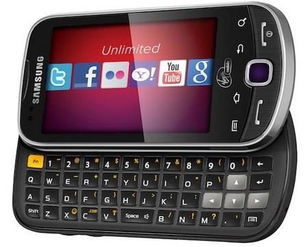 Virgin Mobile Samsung Intercept Android Phone