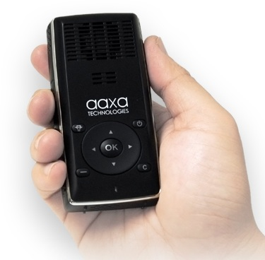 AAXA L1 v2 Laser Pico Projector Announced on hand