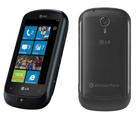 AT&T LG Optimus Windows Phone 7 Smartphone